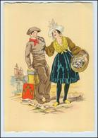 Y256/ Poitou Frankreich Trachten Künstler Litho AK Maudy Ca.1940 - Ohne Zuordnung