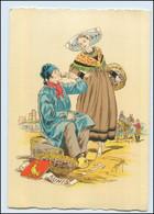 Y258/ Aunis Frankreich Trachten Künstler Litho AK Maudy Ca.1940 - Ohne Zuordnung