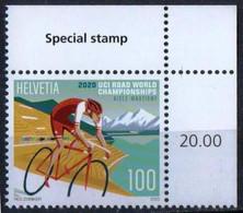 Switzerland 2020. UCI Cycling Road World Championships In Aigle And Martigny. Sport  MNH - Ungebraucht