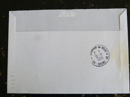 SAINT GERMAIN AU MONT D'OR - RHONE - CACHET ROND MANUEL AU DOS ET CACHET FD FAUSSE DIRECTION SUR MARIANNE LUQUET - Manual Postmarks