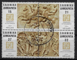 """GREECE, 1984 """"PARTHENON MARBLES"""" SHEETLET, Normally Used - Used Stamps"""