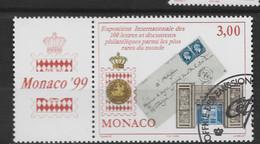 MONACO 1999 Yv 2190 Obli - - Used Stamps