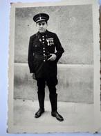WW2 - Régime De Vichy - Photographie Originale D'un Policier -  Format 7 X 10 - TBE - War, Military