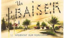 19  UN BAISER DE     ARGENTAT SUR DORDOGNE    CPM  TBE   763 - Argentat