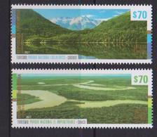 Argentina (2021) - Set - / UPAEP - Nature - Landscapes - Gemeinschaftsausgaben