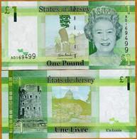 Jersey 1 Pound 2010 P 32 UNC - Jersey