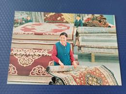Mongolia. Ulan Bator. Carpet Factory - Mongolia