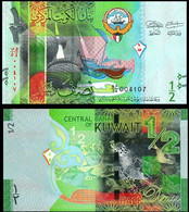 Kuwait 1/2 Dinar 2014 P 30 UNC - Kuwait