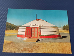 Mongolia. Ulan Bator. Mongolian Yurt - Mongolia
