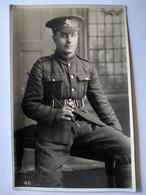 WW1 - CARTE PHOTO D'un SOLDAT ANGLAIS - 1917 - TBE - War 1914-18