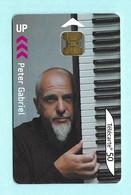 Télécarte France Telecom 50 Unités - Peter Gabriel - Musica