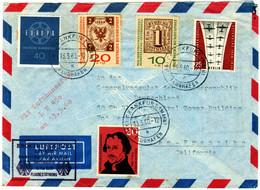 ERÖFFNUNGSFLUG Der Lufthansa Frankfurt Paris Montreal San Francisco Vom 13. Mai 1960 . - Other (Air)