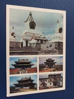 Mongolia. Ulan Bator. Buddhism Temples - Mongolia