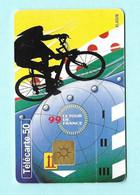 Télécarte France Telecom 50 Unités - Tour De France 99 - Sport