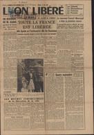 Libération Guerre 40 Journal Lyon Libéré N°2 4 9 1944 YT Mayer Mercure 5M CAD Rectangulaire Lyon Libéré 2 9 44 - Libération