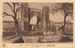 Salé (Maroc) à Petit Prix - Une Vieille Porte - An Old Gate - Photo Flandrin - Carte Vierge - Bon état - Altri