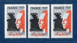 ⭐ France - Variété - YT N° 2149 - Couleurs - Pétouilles - Neuf Sans Charnière - 1981 ⭐ - Varieties: 1980-89 Mint/hinged