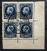 België, 1921, Nr. 187, Bladhoek, Mooi Gestempeld 'Postzegeltentoonstelling Brussel' - 1921-1925 Petit Montenez