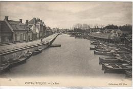 PENICHE     PONT L ' EVEQUE  LE PORT - Embarcaciones