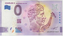 Billet Touristique 0 Euro Souvenir France 63 Charles X 2021-4 N°UEUM001060 - Private Proofs / Unofficial