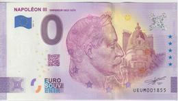 Billet Touristique 0 Euro Souvenir France 63 Napoléon III 2021-5 N°UEUM001855 - Private Proofs / Unofficial