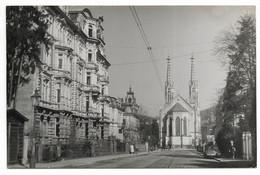 BADEN-BADEN- L'Eglise Protestante...  Animé  1948 - Baden-Baden