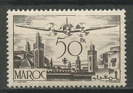 MAROC 1945 PA N° 57 ** Neuf MNH Superbe C 1.20 € Avion Plane Transports - Aéreo