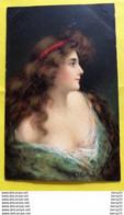 CPA - ART NOUVEAU - FEMME FRAU LADY - IIllustrateur G.T COLLINS - Vrouwen