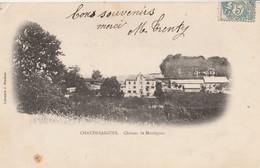 15 CHAUDES AIGUES  Le Chateau De Montignac - Altri Comuni