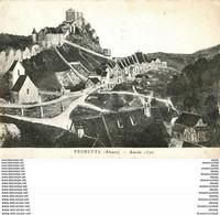 Photo Cpsm Cpm 68 FERRETTE 1959. Destinataire Mm Gladieux à Versailles Comme De Nombreuses Cartes... - Ferrette