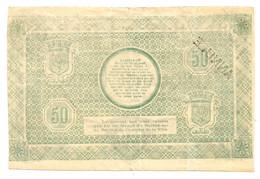 1914-1918 // (NORD) // VILLE DE LILLE // 1917 // 50 Francs // ANNULE - Bons & Nécessité