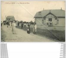 14 VER-SUR-MER. La Rue De La Côte Avec Joueuse De Tennis - Unclassified