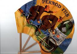 PUBLICITE PERNOD FILS-EVENTAIL PERNOD FILS Parfait ETAT- BUFFAULT PARIS - Alcools