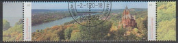 Bund 2020,Michel# 3510 - 3511 O Deutschlands Schönste Panoramen: Bonn - Siebengebirge - Gebruikt
