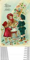 WW NOUVEL AN Bonne Année. Une Pluie De Cadeaux 1909. Carte Papier Glacé Impeccable - New Year
