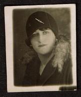 Photo Originale - Photobooth - Photo Identité - Photomaton - 1928 - Jeune Femme - Voir Scan - Anonyme Personen