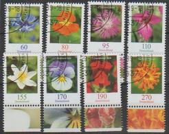 Bund 2019,Michel# 3468 -3475 O Blumen - Gebruikt