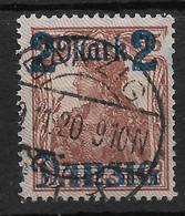 Danzig, Gestempelter  Wert Der Überdruck-Ausgabe Vom 20. August 1920 - Danzig