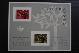 LX38 - Europe CEPT 1962 - Zeer Mooi! - Feuillets De Luxe