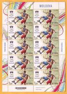 2021 2020 Moldova Moldavie Moldau Sheet 1.75 Tokyo Summer Olympics, Canoe Mint - Eté 2020 : Tokyo