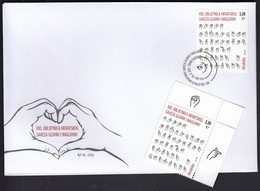 Croatia 2021 / 100th Ann. Of The Croatian Association Of The Deaf And Hard Of Hearing / MNH Stamp + FDC - Kroatien