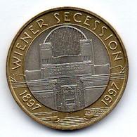 AUSTRIA, 50 Schillings, Bimetallic, Year 1997 KM #3044 - Austria