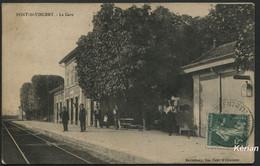 Pont-St-Vincent - La Gare - Barthélémy - Voir 2 Scans - Other Municipalities
