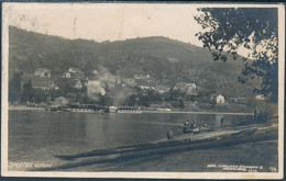 Salesel A. Elbe, Dolní Zálezly / Dampfer, Steamboat - Posted, Real Photo Postcard - Tschechische Republik