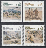 2020 New Zealand Peter McIntyre's World War II WWII Military History Complete Set Of 4 MNH @ BELOW FACE VALUE - Ungebraucht