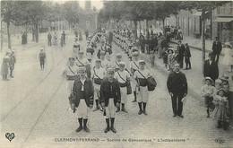 63 ♥ CLERMONT-FD ♥ Societé De Gymnastique L'Indépendante , Rue Ballainvilliers , * CF Lot 4-74 - Clermont Ferrand