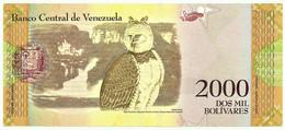 Venezuela - 2000 Bolívares - 18.08.2016 ( 2017 ) - Pick 96.a - Serie B - Cacique Qualcalpuro - Venezuela