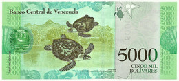Venezuela - 5000 Bolívares - 13.12.2017 - Pick 97.b - Serie D - Luisa Cáceres De Arismendi - Venezuela