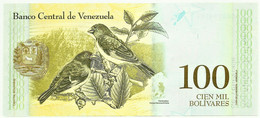 Venezuela - 100 000 Bolívares - 13.12.2017 - Pick 100.b - Unc. - Serie C - Simon Bolivar - 100000 - Venezuela