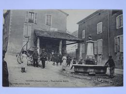 CPA (05) Hautes Alpes - VEYNES - Place Adrien Ruelle - Andere Gemeenten